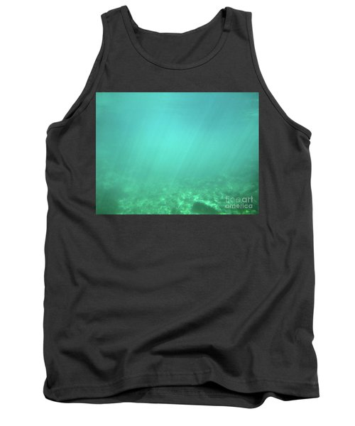 Tank Top featuring the photograph Light In The Water by Francesca Mackenney