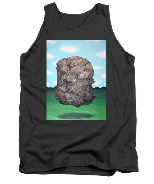 Tank Top featuring the painting Light Rock by Thomas Blood