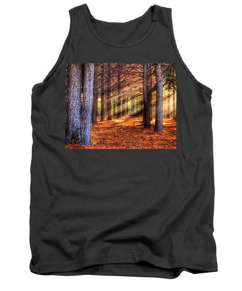 Light Thru The Trees Tank Top by Sumoflam Photography