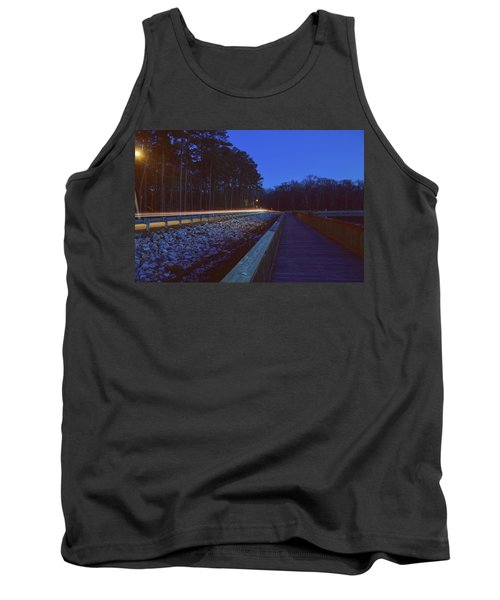 Light Trails On Elbow Road Tank Top
