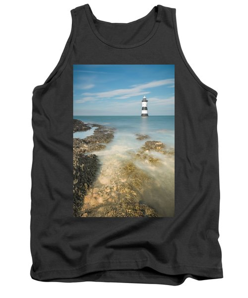 Lighthouse At Penmon Tank Top