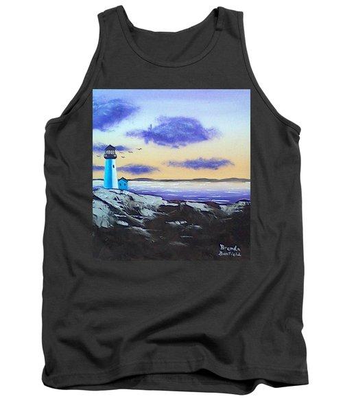 Lighthouse Tank Top by Brenda Bonfield