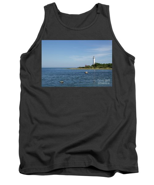 Tank Top featuring the photograph Lighthouse In The Baltic Sea by Kennerth and Birgitta Kullman