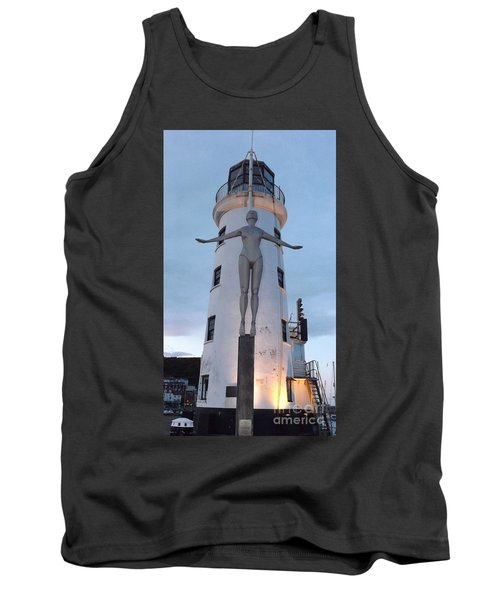 Lighthouse Lady Tank Top