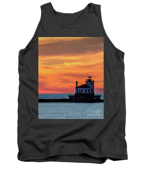 Lighthouse Silhouette Tank Top