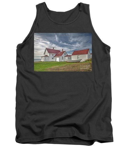 Keepers House At The Monheagn Lighthouse Tank Top