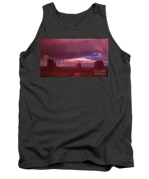 Lightning And Rainbow Tank Top