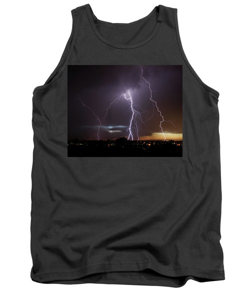 Lightning At Dusk Tank Top