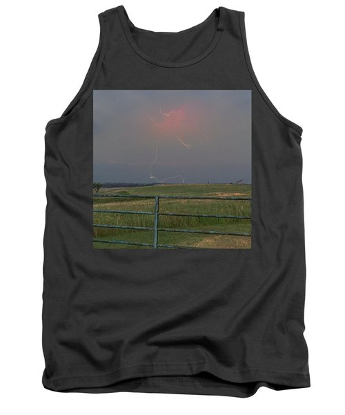 Lightning Bolt On A Scenic Route Tank Top