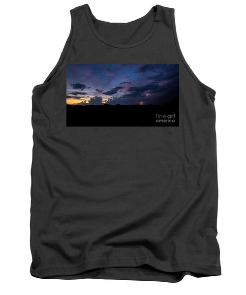 Lightning Sunset Tank Top by Brian Jones