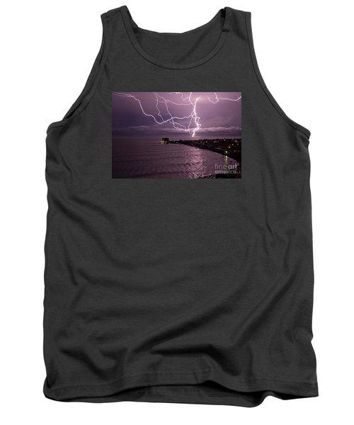 Lightning Up The Night Tank Top