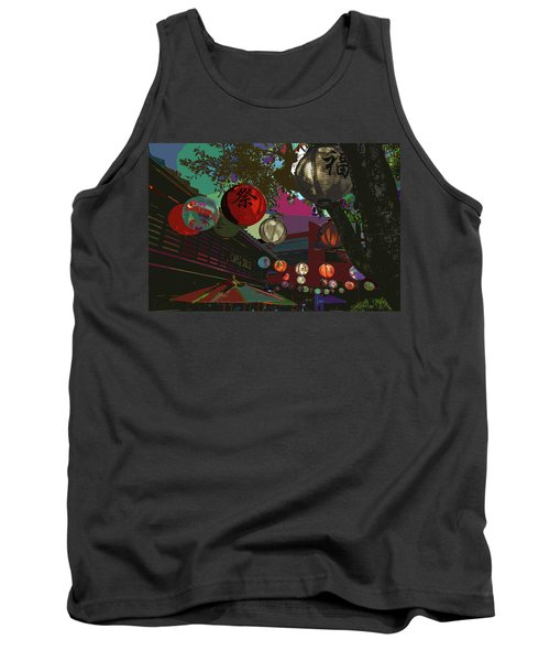 lights are on in little Tokyo Tank Top