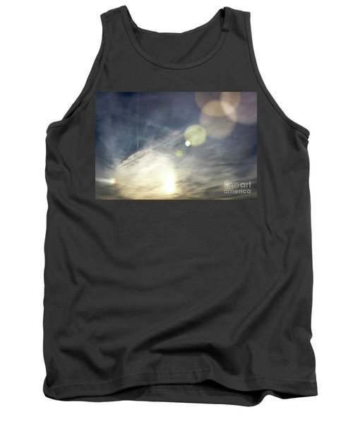 Tank Top featuring the photograph Lightshow by Colleen Kammerer