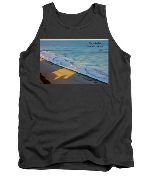 Tank Top featuring the photograph Like A Shadow by Rhonda McDougall