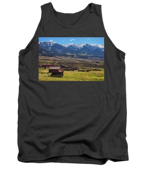 Like An Old Western Movie Tank Top by James BO Insogna