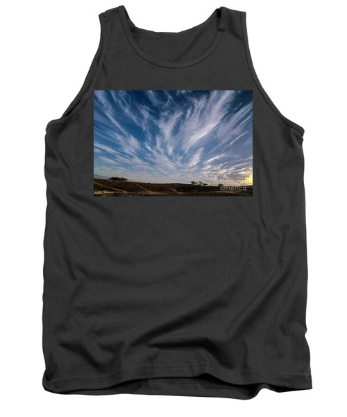 Like Feathers In The Sky Tank Top