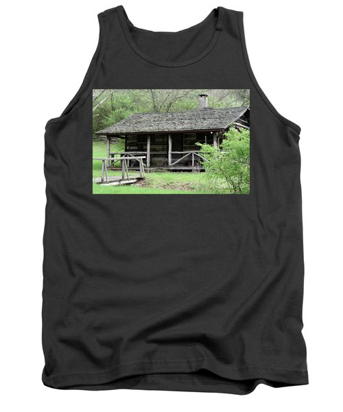 Lil Cabin Home On The Hill  Tank Top