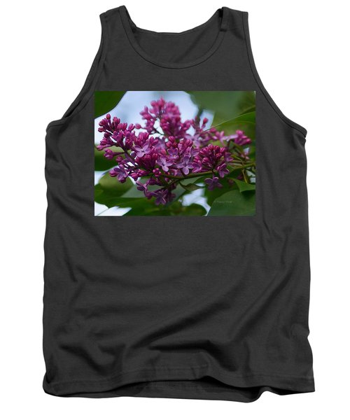 Lilac Buds Tank Top