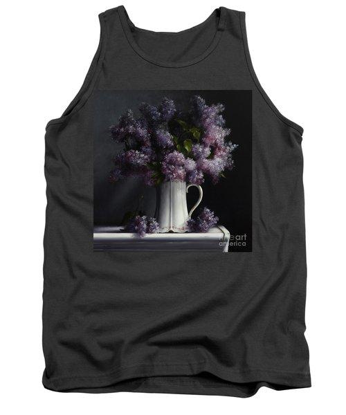 Lilacs/haviland Water Pitcher Tank Top