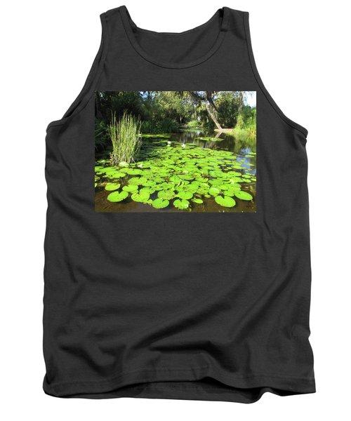 Lilies Of Bok Gardens Tank Top