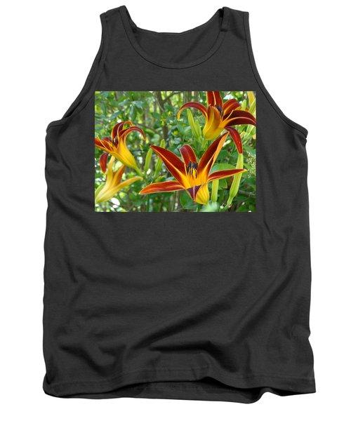 Lilies Sunrise Tank Top