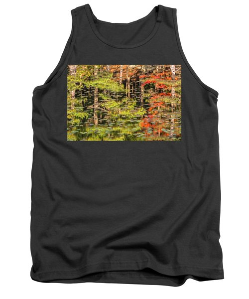 Lily Pad Abstract II Tank Top
