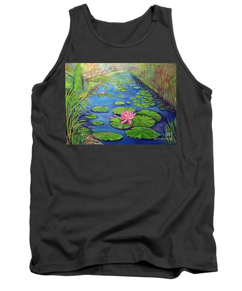 Water Lily Canal Tank Top