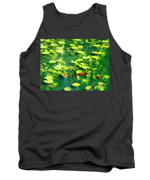Lily Pads Tank Top by Melissa Stoudt