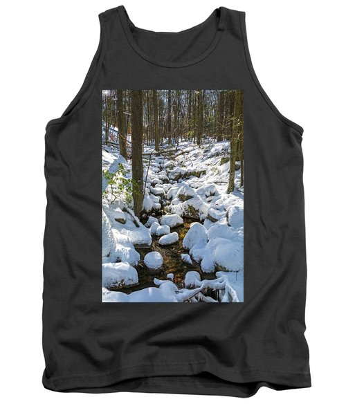 Lily Pads Of Snow Tank Top
