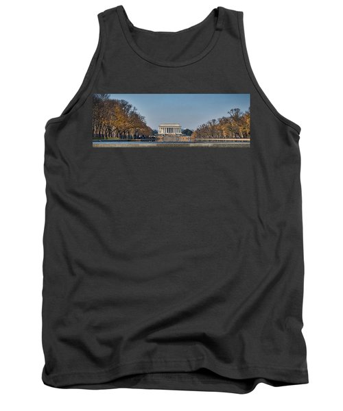 Lincoln From Afar Tank Top
