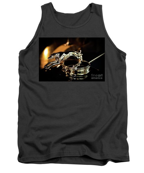 Lincoln Greyhound Hood Ornament Tank Top