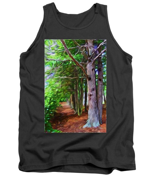 Lincoln's Path Tank Top by Joan Reese