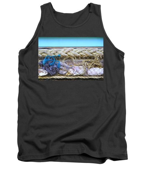 Tank Top featuring the photograph Line Of Debris II by Stephen Mitchell