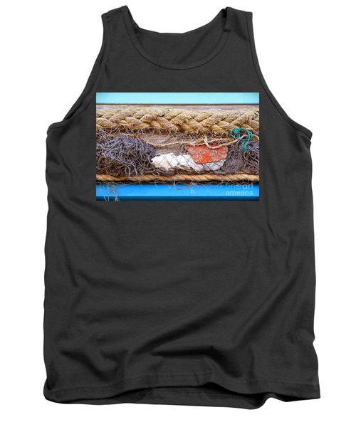 Tank Top featuring the photograph Line Of Debris by Stephen Mitchell