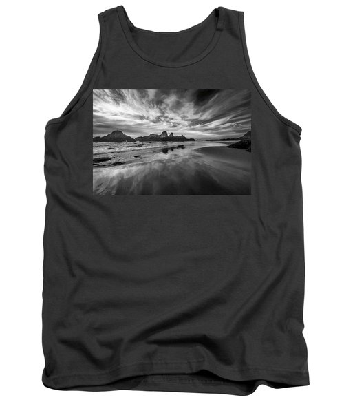 Lines In The Sand At Seal Rock Tank Top