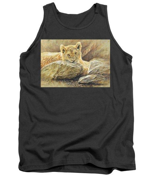 Lion Cub Study Tank Top