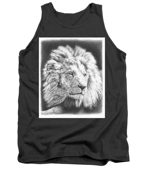 Fluffy Lion Tank Top