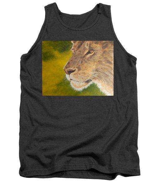 Lion Portrait Tank Top