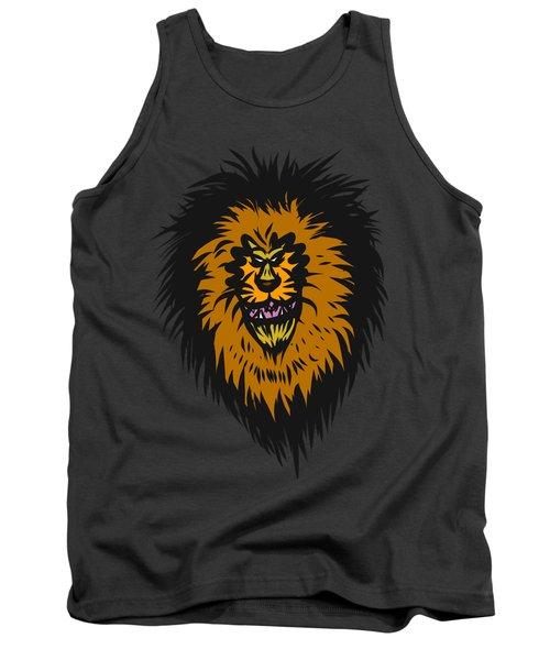 Lion Roar Purple Tank Top
