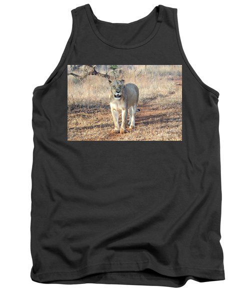 Lioness In Kruger Tank Top by Pravine Chester