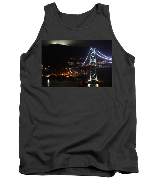 Lions Gate Bridge And Grouse Mountain Tank Top