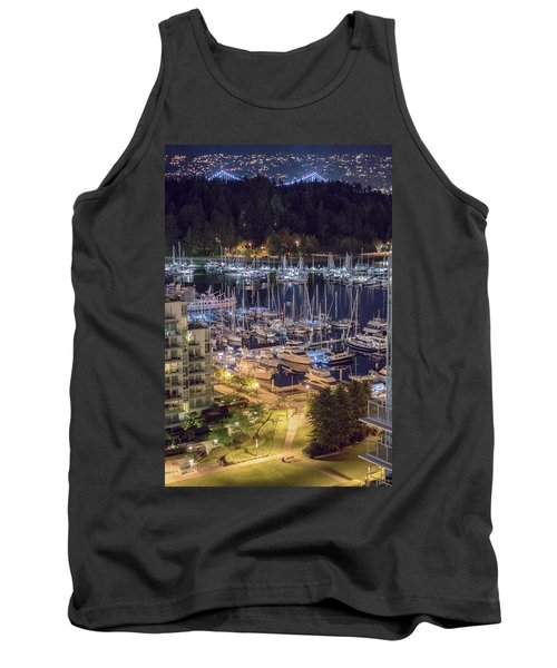 Lions Gate Bridge And Stanley Park Tank Top by Ross G Strachan