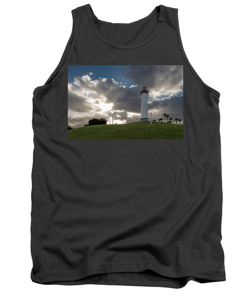 Lion's Lighthouse For Sight - 2 Tank Top