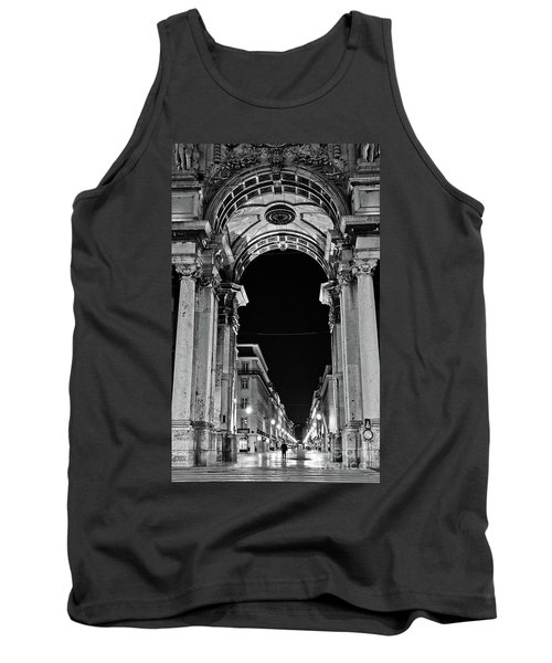 Lisbon - Portugal - Triumphal Arch - Rua Augusta Tank Top