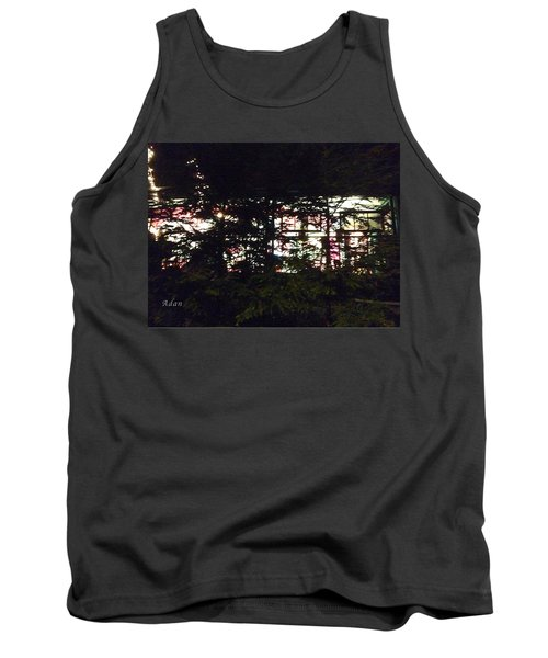 Tank Top featuring the photograph Lit Like Stained Glass by Felipe Adan Lerma