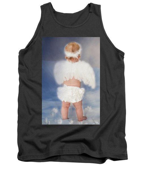Tank Top featuring the photograph Little Angel by Linda Segerson