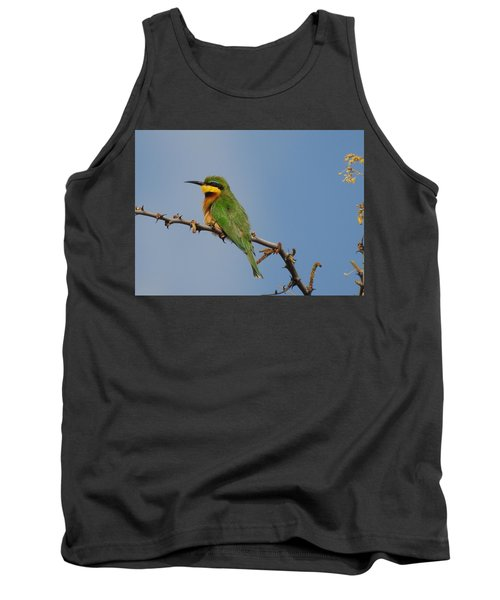 Tank Top featuring the photograph Little Bee-eater by Betty-Anne McDonald