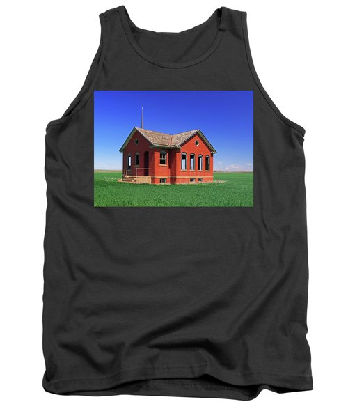 Little Brick School House Tank Top by Christopher McKenzie