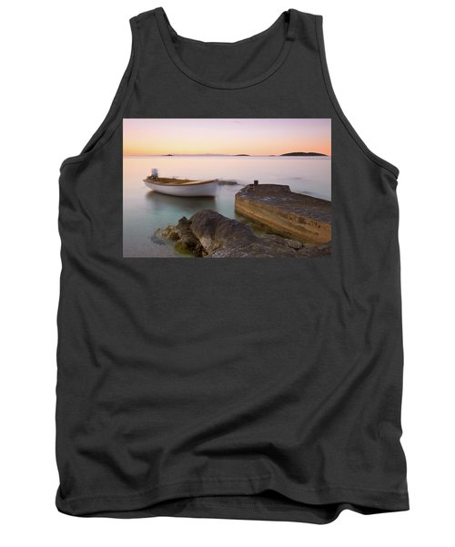 Tank Top featuring the photograph Little Haven by Davor Zerjav