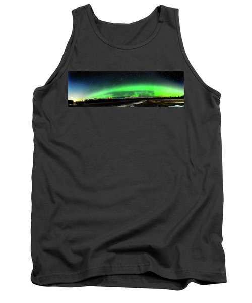 Little House Under The Aurora Tank Top